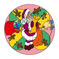 Mandalas Weihnachten