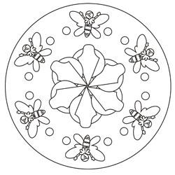 Mandalas Für Kinder Basteln Gestalten