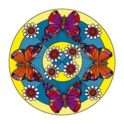 Mandalavorlage