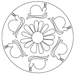 Mandalas Fur Kinder Basteln Gestalten