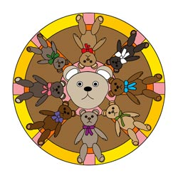 Mandalas Teddy