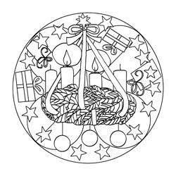 Mandalas zum Advent | Basteln & Gestalten