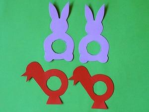 Für Ostern Basteln Hase Küken Basteln Gestalten