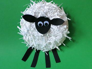 Schaf basteln