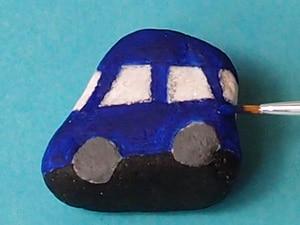Malen auf Stein