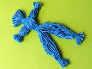 Spielzeug aus Wolle