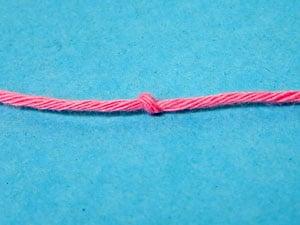 Knoten für Schnauze