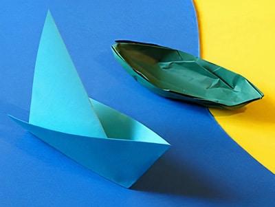 schnittige segelboote selber basteln basteln gestalten. Black Bedroom Furniture Sets. Home Design Ideas