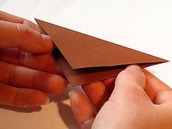 Schritt 1: Papier zurechtlegen