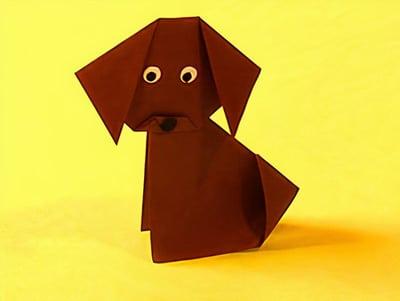 pferd aus papierrollen basteln, einen drolligen hund basteln | basteln & gestalten, Design ideen