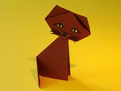eine Katze basteln