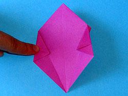 Körbchen aus Papier