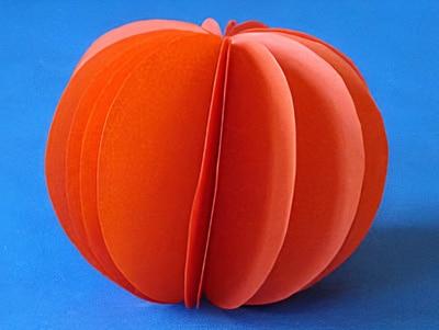 Orange basteln