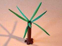 Palmen basteln
