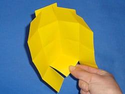Papierhäuser falten
