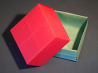 Schachtel basteln