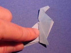 Schritt 21: Origami falten