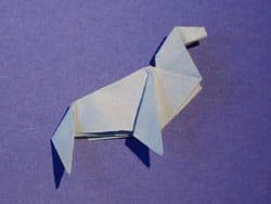 Schritt 22: Origami falten