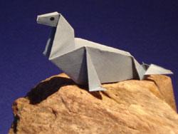 Einen Seehund falten