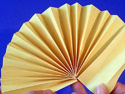 Schritt 6: Papier auffächern