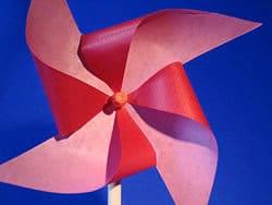 Windmühle falten