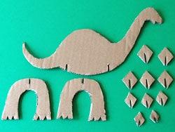 Dinosaurier Basteln Basteln Gestalten
