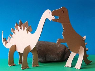 pferd aus papierrollen basteln, dinosaurier basteln | basteln & gestalten, Design ideen