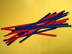 Bastelanleitung für ein eine Krake aus Tonpapier