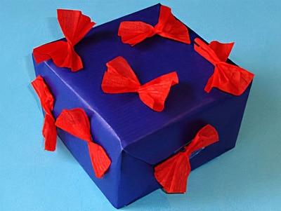 geschenk verpacken fächer