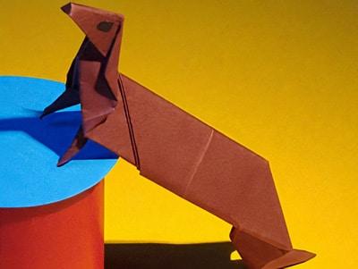 Gut bekannt Schritt für Schritt einen Hund falten | Basteln & Gestalten MY71