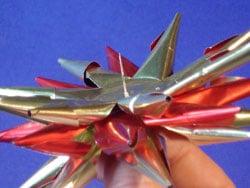 ein kugelstern f r den weihnachtsbaum basteln gestalten. Black Bedroom Furniture Sets. Home Design Ideas