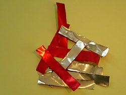 Bastelanleitung für eine Papierkette
