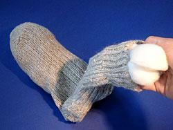 Basteln mit Socken