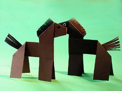 Ein Geld Pferd basteln | Basteln & Gestalten