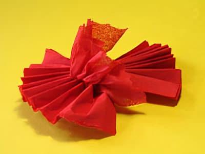 Eine Servietten Rose Zum Verschonern Basteln Gestalten