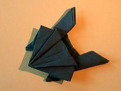 Servietten Origami