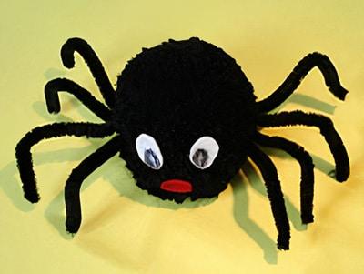 Eine Spinne basteln