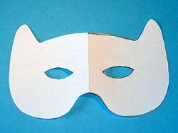 Eine Tiger Maske Basteln Basteln Gestalten