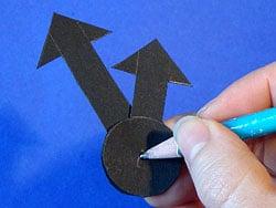 Uhrzeiger selber basteln  Eine Uhr basteln | Basteln & Gestalten