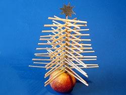 Bastelidee für die Weihnachtszeit