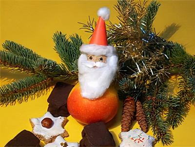 Weihnachtsmann Deko