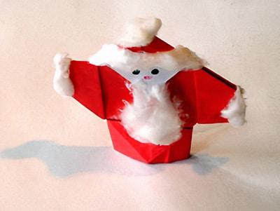 einen Weihnachtsmann basteln