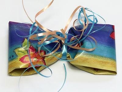 Verpackungsidee für Geschenke