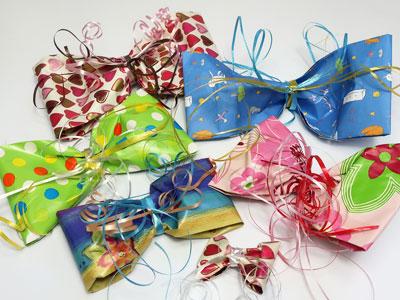Geschenkschleifen selber machen