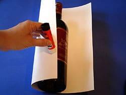 2 flaschen als hochzeitsgeschenk verpacken basteln gestalten. Black Bedroom Furniture Sets. Home Design Ideas