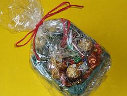 Süßigkeiten verpacken