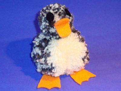 Ente aus Wolle