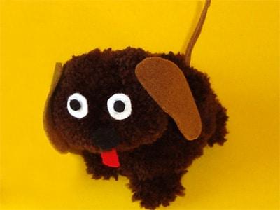 Hund aus Wolle